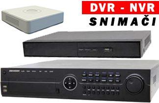 Snimači DVR - NVR