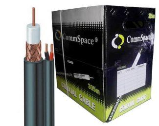 Kabl koaksijalni RG59+2x0.5 napojni, za video nadzor