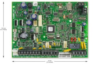 MG5000 bežična centrala Alarm paradox