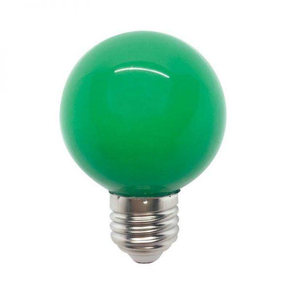 LED SIJALICA GLOBE, 3W, G45, E27, ZELENA, 99LED823 - Cena