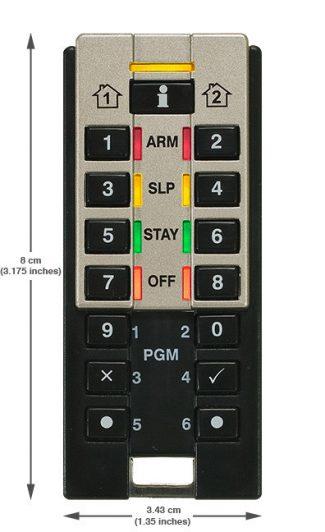 Daljinski REM3 daljinski upravljač Paradox daljinac cena prodaja programiranje, prodaja beograd