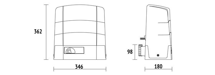 Ugradnja motora roger dimenzije_motora_klizne_kapije_G30_1803