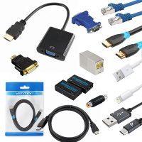 gotovi kablovi adapteri lan, utp, usb, hdmi, extenderi, modulatori, rj45, rs232, rj45, moduli