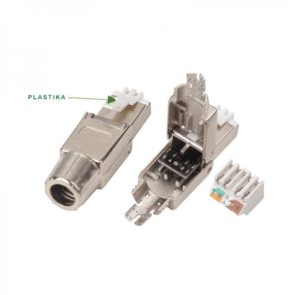 Modu konektor RJ-45 STP TLS kat. 6A